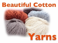 Beautiful Cotton Yarns