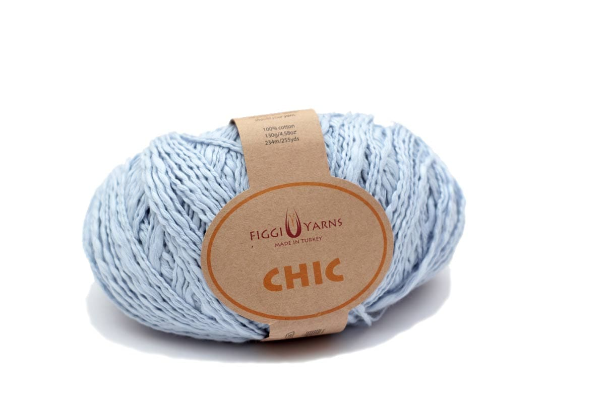 Misty Blue Chic Cotton Yarn