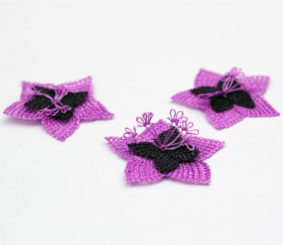Violets Oya Lace Notions