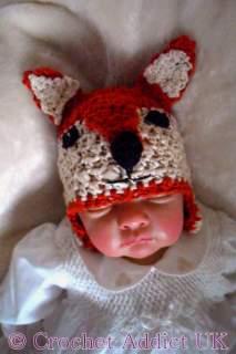 Baby Fox Hat Newborn-12 months