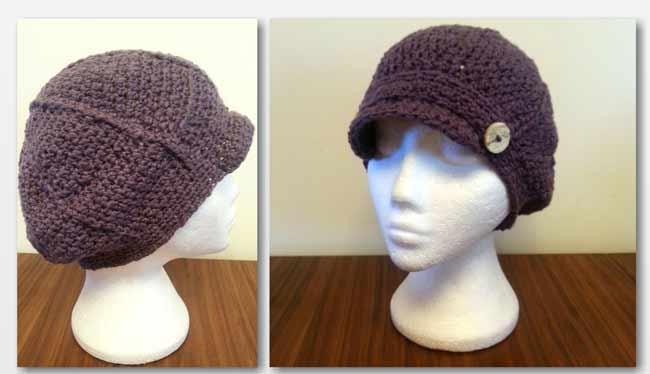 Womans Newsboy Slouchy Crochet Pattern Free Crochet Pattern