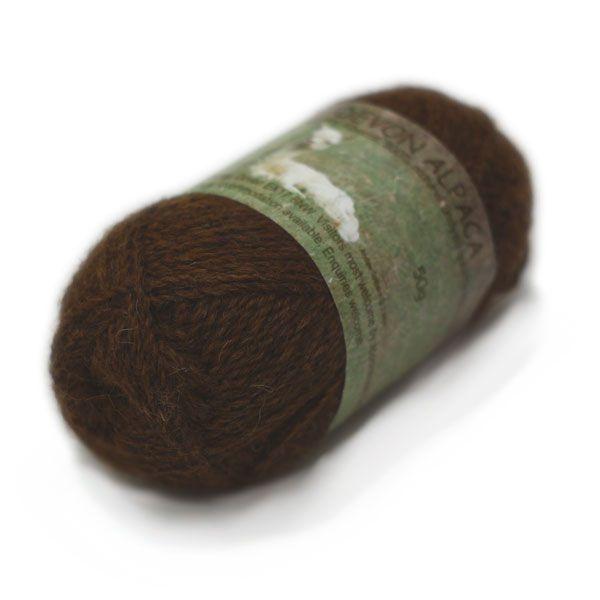 Andaw Alpaca Espresso 4ply yarn