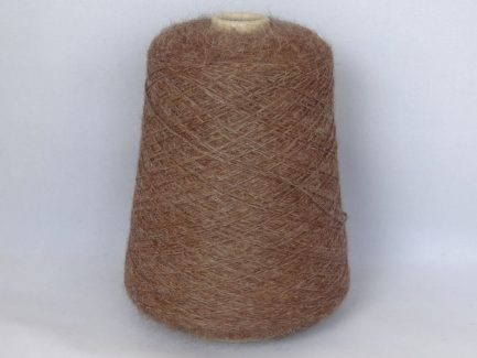 Chesnut alpaca 4ply yarn on cone