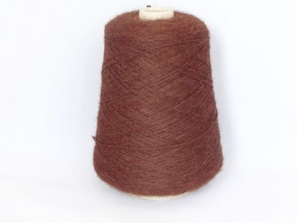 Chocolate alpaca 4ply coned