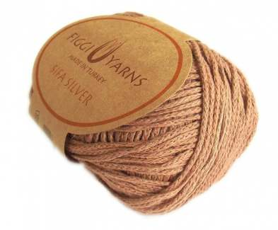 Earth Bronze Sifa Silver Cotton Yarn