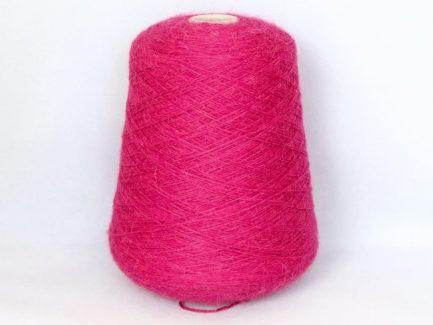 Fuschia Alpaca 4Ply Yarn on Cone