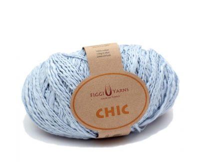 Chic Cotton Yarn Misty Blue