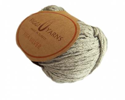 Natural Sifa Silver Cotton Yarn