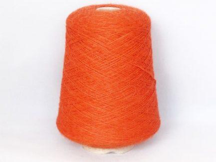 Orange Alpaca 4Ply Yarn Cone