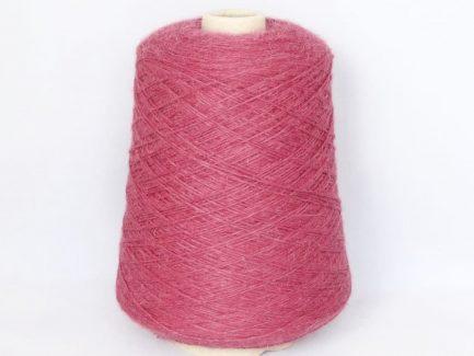 Raspberry Alpaca 4ply Cone