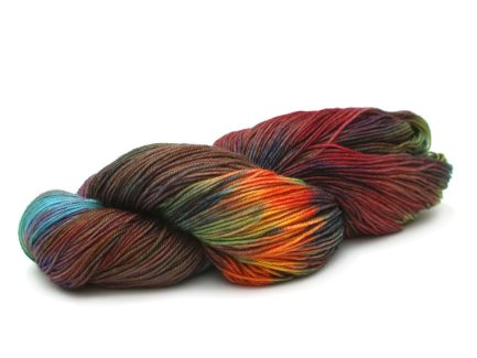 Hand-painted Pindo Yarn Merino Blend Alegria A8855