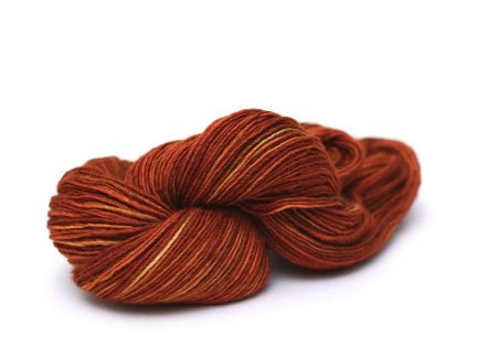 Rust Yarn Silk Blend Fino 6362