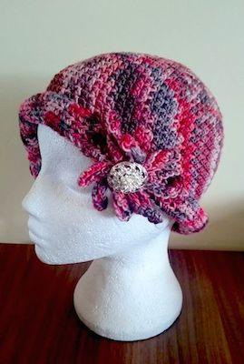 Charlotte Flapper Cloche Hat free pattern
