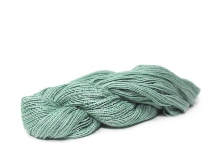Tide Serena Yarn is a subtle shade of a light blue / turquoise colur spun in a soft Pima cotton blend yarn