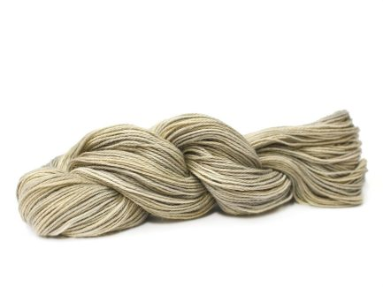 Willow Serena Yarn is a subtle mix of beautiful shades of light beige and cream spun in a soft Pima cotton blend yarn