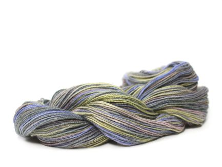 Primrose Serena Yarn a gorgeous soft Pima cotton blend yarn Kettle Dyed by Hand S9753