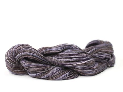 Buddleia Serena Yarn is a beautiful variegated Pima cotton blend yarn with a subtle mix of lilacs and purples S9999