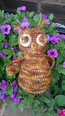 Boo the Owl free Crochet pattern