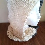 Night Day hooded cowl free crochet pattern